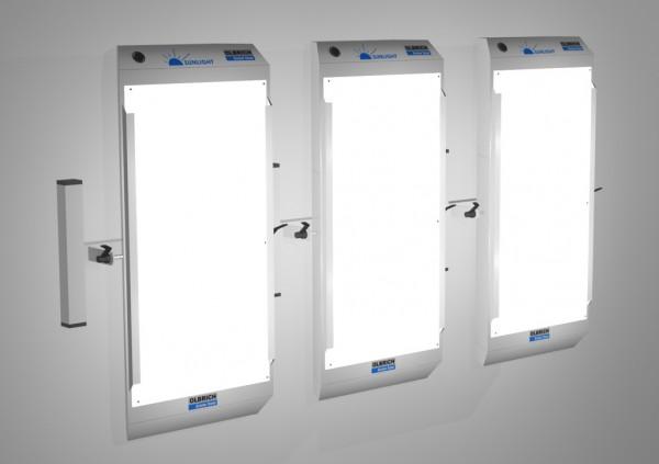 Lichttherapiegerät mit Wandhalterung