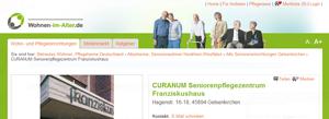 CURANUM Seniorenpflegezentrum Franziskushaus