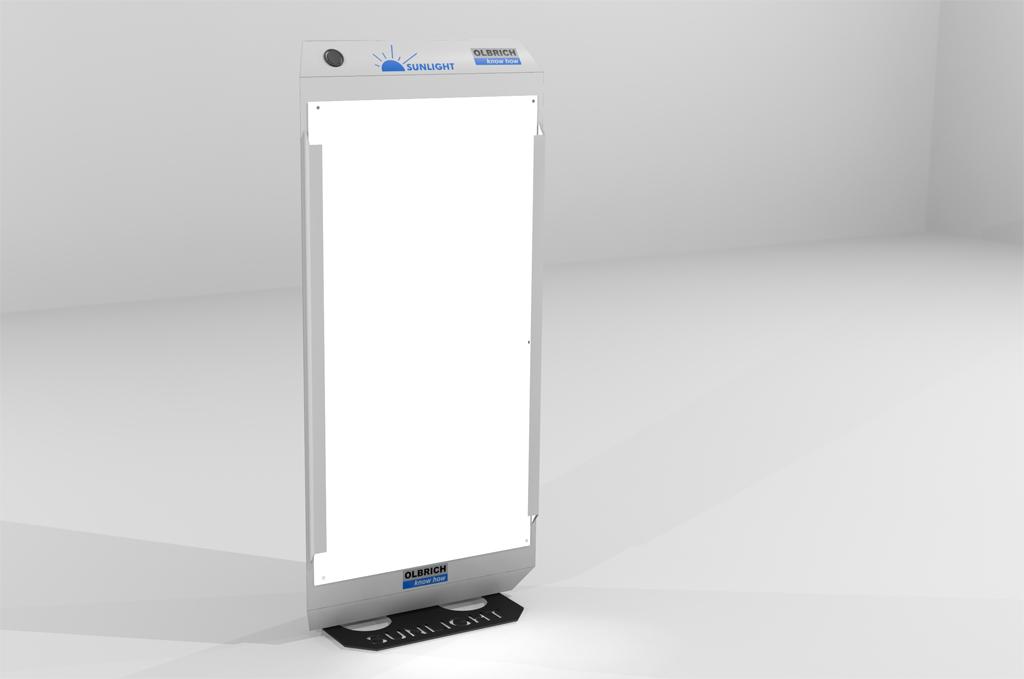 Sunlight-Lichttherapiegerät mit Standfuß